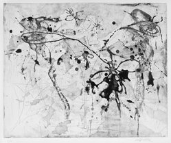 Michael Tetherow (American, 1942-2007). <em>Intaglio Suite</em>, 1990. Intaglio, sheet: 22 x 30 in. (55.9 x 76.2 cm). Brooklyn Museum, Alfred T. White Fund, 1991.19.4. © artist or artist's estate (Photo: Brooklyn Museum, 1991.19.4_SL3.jpg)