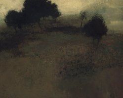 Richard Mayhew (American, born 1934). <em>Pastoral</em>, ca. 1963. Oil on canvas, 49 1/2 x 61 1/2in. (125.7 x 156.2cm). Brooklyn Museum, Gift of Mr. and Mrs. Martin E. Segal, 1991.211.2. © artist or artist's estate (Photo: Brooklyn Museum, 1991.211.2_transpc002.jpg)