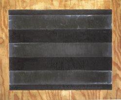 Joseph Amar. <em>Untitled</em>, 1988. Lead and graphite on oak, 37 1/2 x 45 in. (95.3 x 114.3 cm). Brooklyn Museum, Gift of Bette Ziegler, 1991.282.1. © artist or artist's estate (Photo: Brooklyn Museum, 1991.282.1_transp5699.jpg)