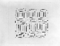 Michael Loew (1907-1985). <em>Untitled</em>, ca. 1983. Colored pencil on paper, 22 x 17 3/4 in. (55.9 x 45.1 cm). Brooklyn Museum, Gift of Mildred Loew, 1991.298.2. © artist or artist's estate (Photo: Brooklyn Museum, 1991.298.2_bw.jpg)