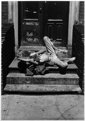 E. Ira McCrudden (American, born 1961). <em>Margaret Withdrawal (Hell's Kitchen)</em>, 1990. Gelatin silver photograph, sheet: 14 × 11 in. (35.6 × 27.9 cm). Brooklyn Museum, Gift of the artist, 1993.168.1. © artist or artist's estate (Photo: Brooklyn Museum, 1993.168.1_bw.jpg)