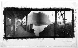 Craig Barber (American, born 1947). <em>Rancho de Taos</em>, 1991. Pinhole, platinum, and palladium photograph, image: 8 1/8 x 20 in. (20.6 x 50.8 cm). Brooklyn Museum, Gift of the artist, 1994.133. © artist or artist's estate (Photo: Brooklyn Museum, 1994.133_bw.jpg)