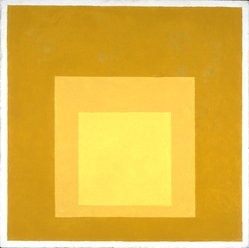 Josef Albers (American, 1888-1976). <em>Homage to the Square</em>, 1957. Oil on masonite, 18 x 18in. (45.7 x 45.7cm). Brooklyn Museum, Gift of The Josef and Anni Albers Foundation, 1995.197.1. © artist or artist's estate (Photo: Brooklyn Museum, 1995.197.1_SL3.jpg)