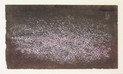 Mark Tobey (American, 1890-1976). <em>Dual Presence</em>, 1954. Tempera, 7 x 4in. (17.8 x 10.2cm). Brooklyn Museum, Bequest of Mrs. Carl L. Selden, 1996.150.26. © artist or artist's estate (Photo: Brooklyn Museum, 1996.150.26_transp5595.jpg)