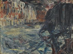 Jack B. Yeats. <em>Sligo Forever</em>. Oil on canvas, 17 3/4 x 23 1/2 in. Brooklyn Museum, Bequest of Mrs. Carl L. Selden, 1996.150.27. © artist or artist's estate (Photo: Brooklyn Museum, 1996.150.27_PS2.jpg)