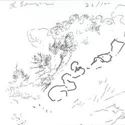 Lynda Benglis (American, born 1941). <em>[Untitled]</em>, 1995. Letterpress on paper, 6 x 6 in. (15.2 x 15.2 cm). Brooklyn Museum, Alfred T. White Fund, 1996.51.2. © artist or artist's estate (Photo: Brooklyn Museum, 1996.51.2_PS4.jpg)
