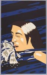 Alex Katz (American, born 1927). <em>The Swimmer</em>, 1974. Aquatint, 39 7/8 x 24 7/8 in. (101.4 x 63.2 cm). Brooklyn Museum, Gift of the artist, 1996.97.18. © artist or artist's estate (Photo: Brooklyn Museum, 1996.97.18_PS9.jpg)