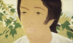 Alex Katz (American, born 1927). <em>Boy with Branch I</em>, 1975. Aquatint, 24 x 40 1/8in. (61 x 101.9cm). Brooklyn Museum, Gift of the artist, 1996.97.26. © artist or artist's estate (Photo: Brooklyn Museum, 1996.97.26_transpc001.jpg)