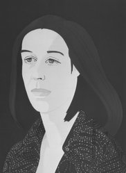 Alex Katz (American, born 1927). <em>Ada Four Times</em>, 1979-1980. Screenprint and lithograph in 10 colors, 30 1/16 x 22 15/16 in. (76.4 x 56.8 cm). Brooklyn Museum, Gift of the artist, 1996.97.2. © artist or artist's estate (Photo: Brooklyn Museum, 1996.97.2_bw.jpg)