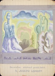 Joseph Lomoff (American, 1889-1956). <em>Untitled</em>, early-mid 20th century. Gouache on board, image: 14 x 13 1/4 in. (35.6 x 33.8 cm). Brooklyn Museum, Gift of Myra Silver, 1997.122.6. © artist or artist's estate (Photo: Brooklyn Museum, 1997.122.6_transp685.jpg)