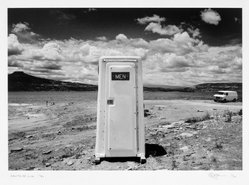Eddie Dayan (British, born Egypt, 1943). <em>Santa Fe, NM</em>, 1991. Gelatin silver photograph, image: 9 5/8 x 13 7/8 in. (24.4 x 35.2 cm). Brooklyn Museum, Gift of the artist, 1999.18.4. © artist or artist's estate (Photo: Brooklyn Museum, 1999.18.4_bw.jpg)