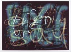 Clay Debevoise (American, 1954-2009). <em>Edge</em>, 1997. Iris print, Sheet: 10 5/16 x 14 in. (26.2 x 35.6 cm). Brooklyn Museum, Gift of Clay Debevoise, 1999.33. © artist or artist's estate (Photo: Brooklyn Museum, 1999.33_PS4.jpg)
