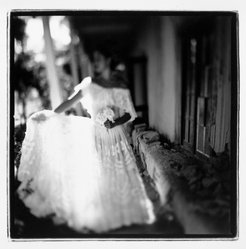 Herminia Dosal (Mexican). <em>Hacienda Bride</em>, 1998; Printed 1999. Gelatin silver photograph, Sheet: 8 x 10 in.  (20.3 x 25.4 cm);. Brooklyn Museum, Purchased with funds given by Karen B. Cohen, 1999.85.2. © artist or artist's estate (Photo: Brooklyn Museum, 1999.85.2_bw.jpg)