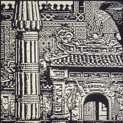 Peter Nagy (American, born 1959). <em>Luxor, Sikandre, Hue</em>, 1990. Acrylic on canvas, 72 x 72 in.  (182.9 x 182.9 cm). Brooklyn Museum, Gift of Ruth Lloyds and William S. Ehrlich, 2001.127. © artist or artist's estate (Photo: Brooklyn Museum, 2001.127_transp5357.jpg)