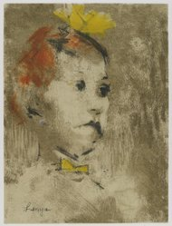 Jack Levine (American, 1915-2010). <em>Lenya</em>, 1967. Aquatint and etching, Image: 11 11/16 x 8 15/16 in. (29.7 x 22.7 cm). Brooklyn Museum, Gift of the artist, 2002.53.10. © artist or artist's estate (Photo: Brooklyn Museum, 2002.53.10_PS4.jpg)
