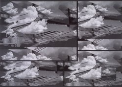 Luiz Guimaraes Monforte (Brazilian, born 1949). <em>[Untitled] (Cloud)</em>, 2000. Digital print, 19 11/16 x 24 1/2 in. (50 x 62.2 cm). Brooklyn Museum, Gift of the artist, 2004.68.5. © artist or artist's estate (Photo: Brooklyn Museum, 2004.68.5.jpg)