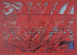 Luiz Guimaraes Monforte (Brazilian, born 1949). <em>[Untitled] (Red)</em>, 2000. Digital print, 19 11/16 x 24 1/2 in. (50 x 62.2 cm). Brooklyn Museum, Gift of the artist, 2004.68.6. © artist or artist's estate (Photo: Brooklyn Museum, 2004.68.6.jpg)