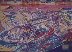 Luiz Guimaraes Monforte (Brazilian, born 1949). <em>[Untitled] (Hopi Hari)</em>, 2000. Digital print, 19 11/16 x 24 1/2 in. (50 x 62.2 cm). Brooklyn Museum, Gift of the artist, 2004.68.9. © artist or artist's estate (Photo: Brooklyn Museum, 2004.68.9.jpg)