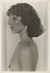 Sheila Metzner (American, born 1939). <em>Teresa</em>, 1977. Gelatin silver photograph, sheet: 19 7/8 × 16 in. (50.5 × 40.6 cm). Brooklyn Museum, Gift of the artist, 2007.16.3. © artist or artist's estate (Photo: Brooklyn Museum, 2007.16.3_PS6.jpg)