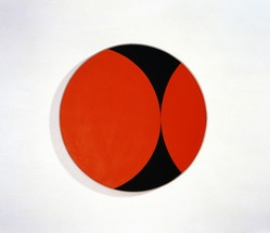 Leon Polk Smith (American, 1906-1996). <em>Stonewall</em>, 1956. Oil on canvas, Diameter: 35 1/2 in. (90.17 cm). Brooklyn Museum, Bequest of Leon Polk Smith, 2011.12.5. © artist or artist's estate (Photo: , 2011.12.5_SL3.jpg)