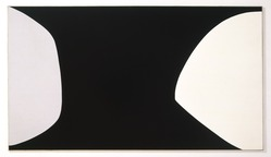 Leon Polk Smith (American, 1906-1996). <em>Black Anthem</em>, 1960. Oil on canvas, 72 x 120 in. (182.9 x 304.8 cm). Brooklyn Museum, Bequest of Leon Polk Smith, 2011.12.6. © artist or artist's estate (Photo: , 2011.12.6_color_corrected_SL1.jpg)