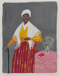 Maira Kalman (Israeli, born 1949). <em>Sojourner Truth, Speak the Truth</em>, 2018. Gouache on paper, 11 3/4 × 9 in. (29.8 × 22.9 cm). Brooklyn Museum, Gift of the artist and Julie Saul Gallery, New York, 2018.58. © artist or artist's estate (Photo: , 2018.58_PS9.jpg)