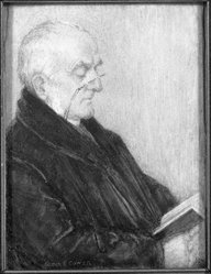 Sarah Eakin Cowan (American, 1875-1958). <em>Dr. Graves</em>, before 1931. Watercolor on porcelain portrait in wood frame under glass lens, Image (sight): 4 3/16 x 3 1/8 in. (10.6 x 7.9 cm). Brooklyn Museum, Museum Collection Fund, 31.761. © artist or artist's estate (Photo: Brooklyn Museum, 31.761_bw_SL1.jpg)