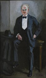 Kees van Dongen (French, born Netherlands, 1877-1968). <em>Portrait of W. S. Davenport</em>, ca. 1925. Oil on canvas, 86 11/16 x 51 9/16 in. (220.2 x 131 cm). Brooklyn Museum, Gift of Mr. and Mrs. William Slocum Davenport, 32.117. © artist or artist's estate (Photo: Brooklyn Museum, 32.117_cropped_PS2.jpg)