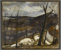 View Over Nyack, Winter