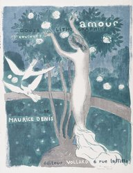 Maurice Denis (French, 1870-1943). <em>Love (Amour)</em>, 1892-1899. Color lithograph on wove paper, Image: 21 x 16 15/16 in. (53.3 x 43 cm). Brooklyn Museum, By exchange, 38.437. © artist or artist's estate (Photo: Brooklyn Museum, 38.437_PS6.jpg)