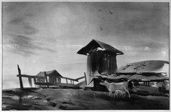 Barse Miller (American, 1904-1973). <em>The Newborn</em>. Watercolor Brooklyn Museum, Dick S. Ramsay Fund, 39.101. © artist or artist's estate (Photo: Brooklyn Museum, 39.101_acetate_bw.jpg)