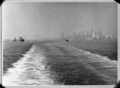 Erich Hoffman. <em>Lower Harbor</em>. Photograph, 7 3/4 x 9 3/4 in. (19.7 x 24.8 cm). Brooklyn Museum, Frank L. Babbott Fund, 41.406 (Photo: Brooklyn Museum, 41.406_bw.jpg)
