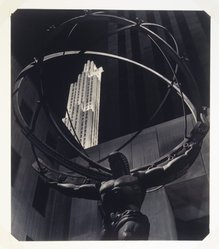 Harvey A. Falk (American, 1903-1983). <em>World of Today</em>, ca. 1941. Photograph, 13 1/2 x 15 1/2 in. (34.3 x 39.4 cm). Brooklyn Museum, Gift of the artist, 41.855. © artist or artist's estate (Photo: Brooklyn Museum, 41.855_transp3211.jpg)