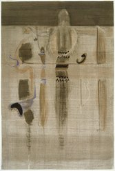 Mark Rothko (American, born Russia, 1903-1970). <em>Vessels of Magic</em>, 1946. Watercolor on paper, 38 3/4 x 25 3/4 in. (98.42 x 65.4 cm). Brooklyn Museum, Museum Collection Fund, 47.106. © artist or artist's estate (Photo: Brooklyn Museum, 47.106_SL1.jpg)