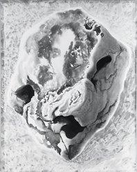 Stanley R. Wilson (British, 1890-1970). <em>Plymouth Rock</em>, 1946. Watercolor, Sheet: 22 1/2 x 17 3/4 in. (57.2 x 45.1 cm). Brooklyn Museum, Gift of Hugh W. Long, 47.200. © artist or artist's estate (Photo: Brooklyn Museum, 47.200_bw.jpg)