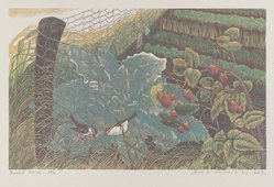 James D. Havens (American, 1900-1960). <em>Rabbit Fence</em>, 1946. Woodcut, 6 5/16 x 10 1/16 in. (16.1 x 25.5 cm). Brooklyn Museum, Dick S. Ramsay Fund, 47.56. © artist or artist's estate (Photo: , 47.56_PS4.jpg)
