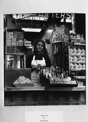 Gaby Mayer. <em>Candy Bar</em>. Photograph, 12 x 11 in. (30.5 x 27.9 cm). Brooklyn Museum, Gift of the artist, 52.162.3 (Photo: Brooklyn Museum, 52.162.3_acetate_bw.jpg)