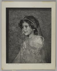 Mildred E. Hatry (American, 1893-1973). <em>Portrait of a Girl</em>. Photograph, 20 x 16 in. (50.8 x 40.6 cm). Brooklyn Museum, Gift of Mrs. Harry Hatry, 55.187.3. © artist or artist's estate (Photo: , 55.187.3_PS4.jpg)