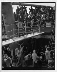 Alfred Stieglitz (American, 1864-1946). <em>Steerage</em>, 1907. Photogravure Brooklyn Museum, Gift of Georgia O'Keeffe, 55.188.1. © artist or artist's estate (Photo: Brooklyn Museum, 55.188.1_bw.jpg)