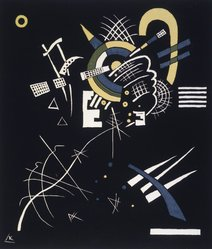Vasily Kandinsky (Russian, 1866-1944). <em>Small Worlds VII (Kleine Welten VII)</em>, 1922. Color lithograph on wove paper, Image: 10 5/8 x 9 3/16 in. (27 x 23.3 cm). Brooklyn Museum, Gift of Stephen Currier, 58.108.11. © artist or artist's estate (Photo: Brooklyn Museum, 58.108.11_transpc002.jpg)