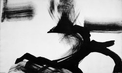 Ann Freilich (American, born 1924). <em>Monhegan</em>, n.d. Brush and ink on paper, sheet: 16 x 26 3/4 in. (40.6 x 67.9 cm). Brooklyn Museum, Gift of Herman and Nina Schneider, 62.30. © artist or artist's estate (Photo: Brooklyn Museum, 62.30_acetate_bw.jpg)