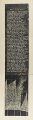 Antonio Frasconi (American, born Argentina, 1919-2013). <em>Poem: To Brooklyn Bridge: (Hart Crane) 1959</em>, 1959. Woodcut on paper, a: 24 x 22 7/8 in. (61 x 58.1 cm). Brooklyn Museum, Dick S. Ramsay Fund, 63.116.2. © artist or artist's estate (Photo: Brooklyn Museum, 63.116.2_PS1.jpg)