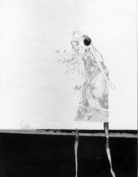 Paul Wunderlich (German, 1927-2010). <em>Olivia Twist</em>. Lithograph in color on wove BFK Rives paper, 25 3/4 x 19 3/4 in. (65.4 x 50.2 cm). Brooklyn Museum, Carll H. de Silver Fund, 63.208.6. © artist or artist's estate (Photo: Brooklyn Museum, 63.208.6_acetate_bw.jpg)