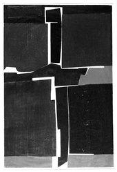 Will Barnet (American, 1911-2012). <em>Singular Image</em>, 1964. Woodcut in color Brooklyn Museum, Dick S. Ramsay Fund, 65.209. © artist or artist's estate (Photo: Brooklyn Museum, 65.209_bw.jpg)