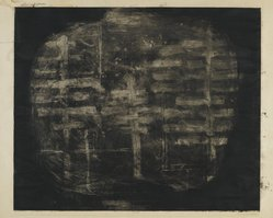 Louise Nevelson (American, born Russia, 1899-1988). <em>Trees</em>, 1952-1954. Etching and drypoint on paper, sheet: 26 x 27 7/8 in. (66 x 70.8 cm). Brooklyn Museum, Gift of Louise Nevelson, 65.22.24. © artist or artist's estate (Photo: Brooklyn Museum, 65.22.24_PS6.jpg)