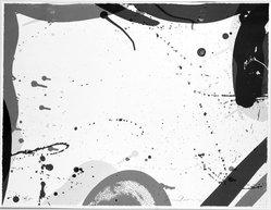 Sam Francis (American, 1923-1994). <em>Untitled 1967</em>, 1967. Lithograph, 17 x 22 in. (43.2 x 55.9 cm). Brooklyn Museum, Dick S. Ramsay Fund, 68.14.1. © artist or artist's estate (Photo: Brooklyn Museum, 68.14.1_acetate_bw.jpg)