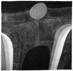 Carol Summers (American, born 1925). <em>Dream of Constantine</em>, 1969. Woodcut on paper, sheet: 36 1/2 x 37 3/8 in. (92.7 x 94.9 cm). Brooklyn Museum, Carll H. de Silver Fund, 70.37.1. © artist or artist's estate (Photo: Brooklyn Museum, 70.37.1_bw.jpg)
