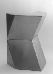 Ursula Meyer (American, 1915-2003). <em>Model for Phoenix, 1967</em>, 1967. Stainless steel, 8 x 12 1/4 x 11 1/4in. (20.3 x 31.1 x 28.6cm). Brooklyn Museum, Gift of the artist, 71.123.1-.2. © artist or artist's estate (Photo: , 71.123.1_71.123.2_bw.jpg)