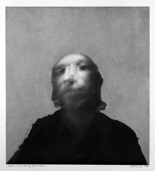 Richard Hamilton (British, 1922-2011). <em>A Portrait of the Artist by Francis Bacon</em>, 1970-1971. Silkscreen on collotype, Sheet: 32 1/8 x 27 1/4 in. (81.6 x 69.2 cm). Brooklyn Museum, Bristol-Myers Fund, 71.135.1. © artist or artist's estate (Photo: Brooklyn Museum, 71.135.1_bw.jpg)