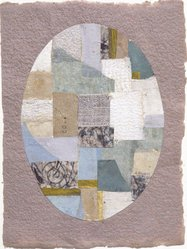 Anne Ryan (American, 1889-1954). <em>Number 419</em>, 1952. Fabric and paper collage, 6 7/8 x 5 3/8 in. (17.5 x 13.7 cm). Brooklyn Museum, Gift of Elizabeth McFadden and the Plymouth Fund, 72.29.3. © artist or artist's estate (Photo: Brooklyn Museum, 72.29.3_slide2_SL3.jpg)